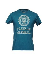 Franklin & Marshall Blue T-shirts for men