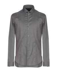 Patrizia Pepe Gray Shirt for men