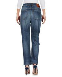 Pantaloni jeans di Love Moschino in Blue