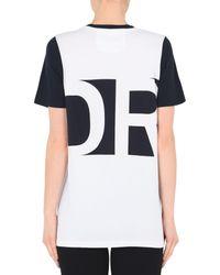 T-shirt di LNDR in White