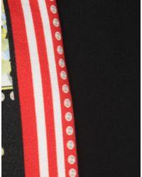 Jupe mi-longue Class Roberto Cavalli en coloris Black