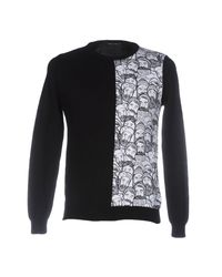Frankie Morello - Black Sweater for Men - Lyst