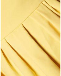 Raoul Yellow Kurzes Kleid