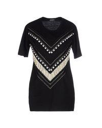 Balmain - Black T-shirt - Lyst