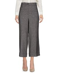 L'Autre Chose Brown 3/4-length Trousers