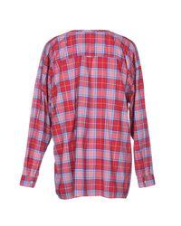 N°21 Red Shirt for men