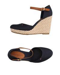 Tommy Hilfiger Blue Sandals