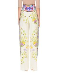 Etro White Casual Pants