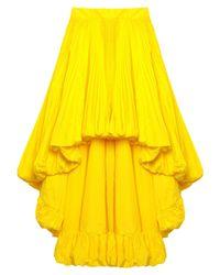 Minifalda Alexandre Vauthier de color Yellow