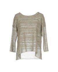 Purotatto Gray Sweater