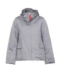 313 Tre Uno Tre Gray Down Jacket