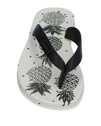 Dolce & Gabbana Black Toe Strap Sandal for men