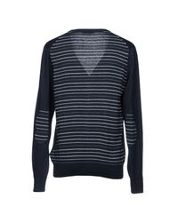 Gas Blue Cardigan for men