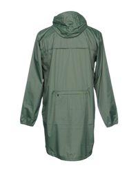 K-Way Green Overcoat for men