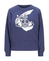 Vivienne Westwood Anglomania Blue Sweatshirt