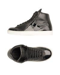 Mr. Hare Black High-tops & Sneakers for men