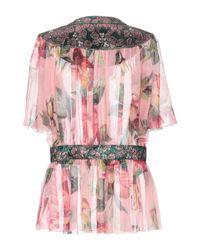 Camisa Dolce & Gabbana de color Pink