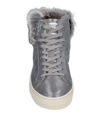 WOMSH Gray High Sneakers & Tennisschuhe