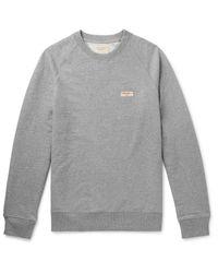 Nudie Jeans Gray Sweatshirt for men