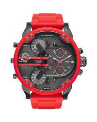 DIESEL - Red Wrist Watches for Men - Lyst