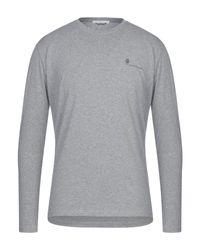 Camiseta Grey Daniele Alessandrini de hombre de color Gray