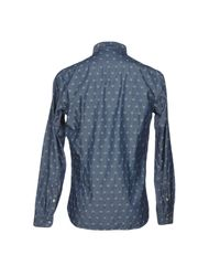 Michael Coal Blue Denim Shirt for men