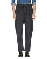 Low Brand Black Casual Pants for men
