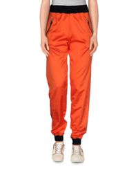 .8! Point Huit Red Casual Trouser