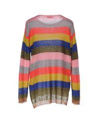 Twenty Easy By Kaos Pink Sweater