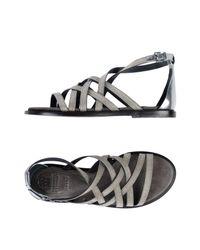 Brunello Cucinelli - Metallic Sandals - Lyst