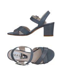 Mally Blue Sandals