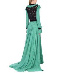 Philosophy Di Lorenzo Serafini - Green Long Dress - Lyst