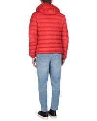 Armani Jeans Red Down Jacket for men