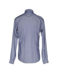 Brian Dales - Blue Shirt for Men - Lyst