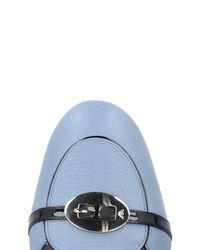 Emporio Armani - Purple Loafer - Lyst
