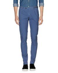 PT01 Blue Casual Pants for men