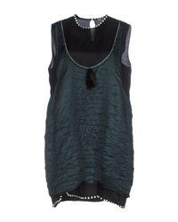 N°21 Green Short Dress