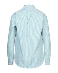 Brooksfield Green Shirt for men