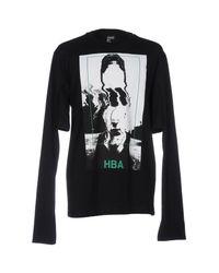 Hood By Air Black T-shirt for men