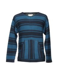 Outerknown Blue Sweater for men