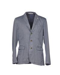 AT.P.CO Gray Blazer for men
