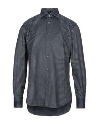 Camicia di Canali in Gray da Uomo