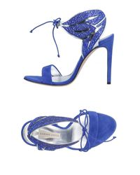 Sandali di Casadei in Blue
