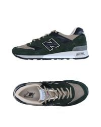 New Balance Green Low-tops & Sneakers for men