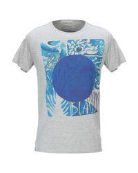 T-shirt di Scotch & Soda in Gray da Uomo