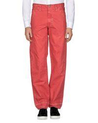 Pantalone di Murphy & Nye in Red da Uomo