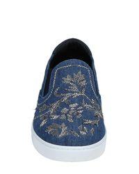 Dolce & Gabbana Blue Low-tops & Sneakers for men