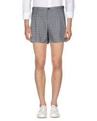 Dolce & Gabbana Gray Shorts for men