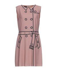 Boutique Moschino Pink Short Dress