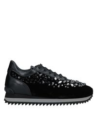 Le Silla Black Low-tops & Sneakers